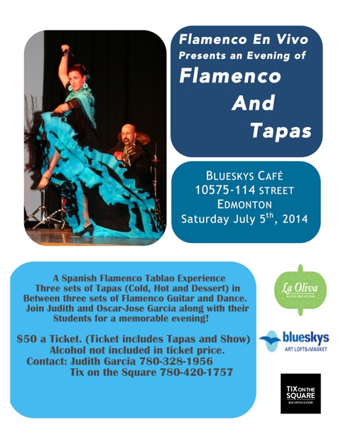 Flamenco & Tapas Night/ July 5, 2014.